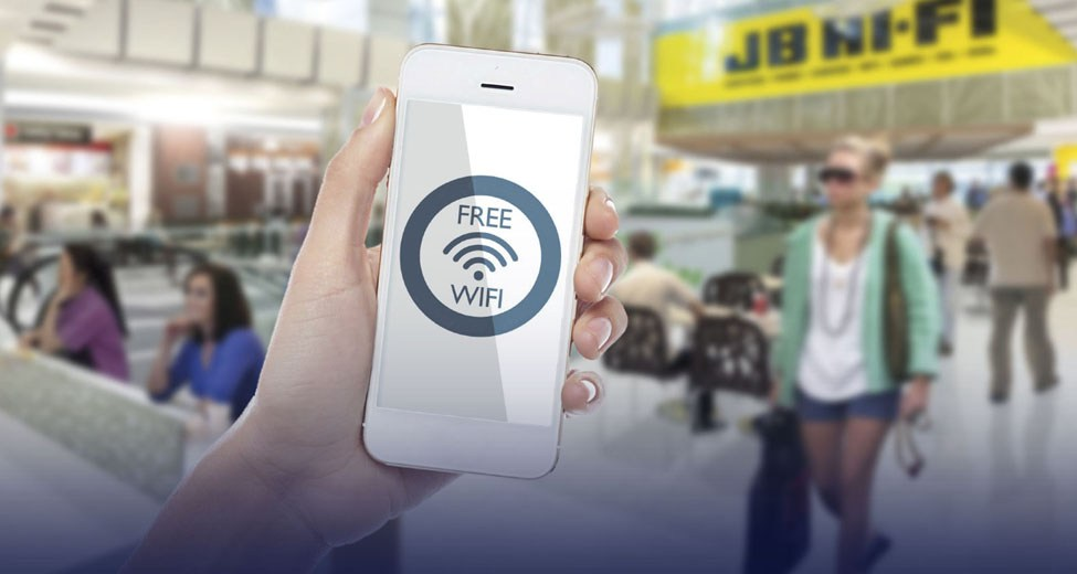 how to secure wi-fi on public hotspots